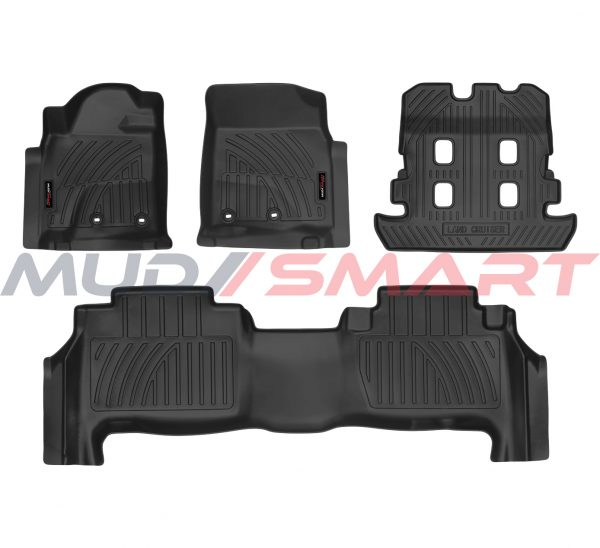5D Floor Mats For 2016-20 Toyota Land Cruiser 5 Seat