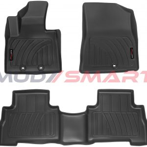 3D Floor Mats For 2015-2017 Kia Sorento All Weather High Quality Black