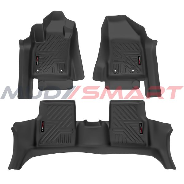 5D Floor Mats For 2016-2020 Jeep Compass All Weather High Quality Black