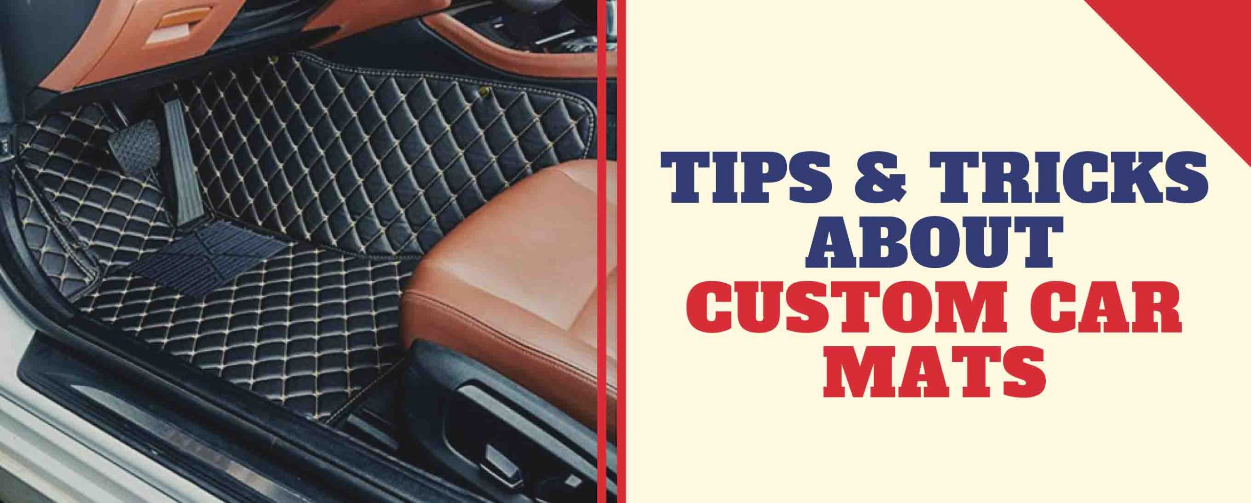 Tips and tricks about custom car mats - MudSmart