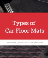 types of car floor mats - MudSmart